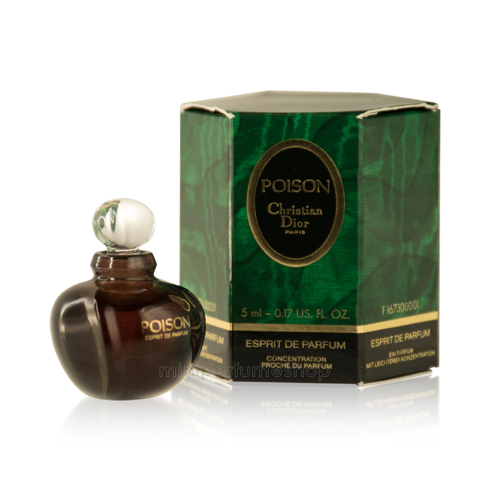 7194b70e9 Dior mini perfume Poison 5 ml. -Esprit de Parfum | miniaturasperfume ...