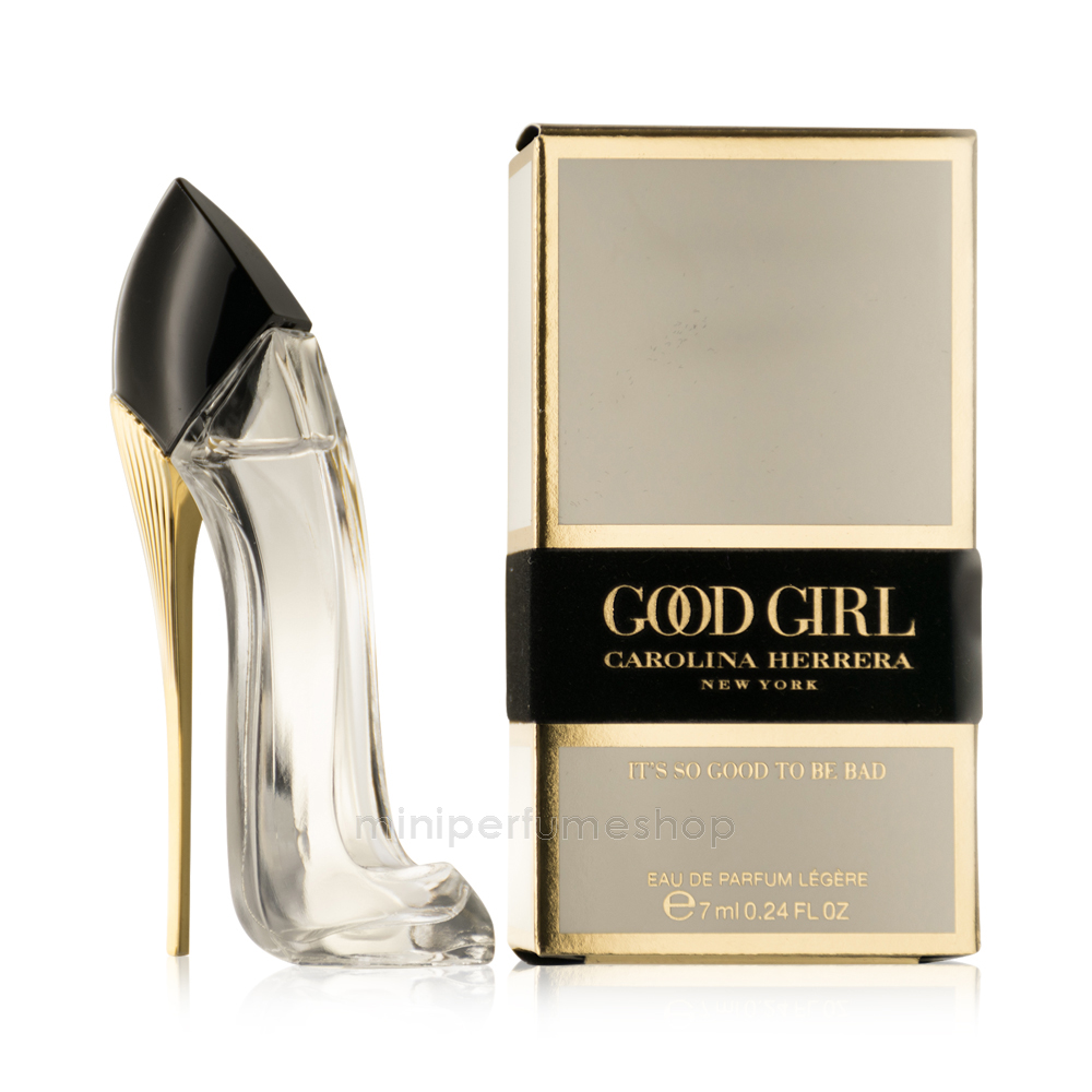 Carolina Herrera Zapato Good Girl Mini Perfume 7 Ml Edp Légére