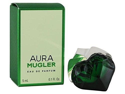 miniatura de perfume aura