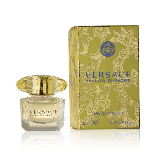 versace mini perfume yellow diamond