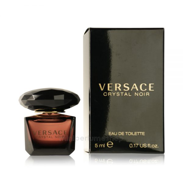 mini perfume versace crystal noir