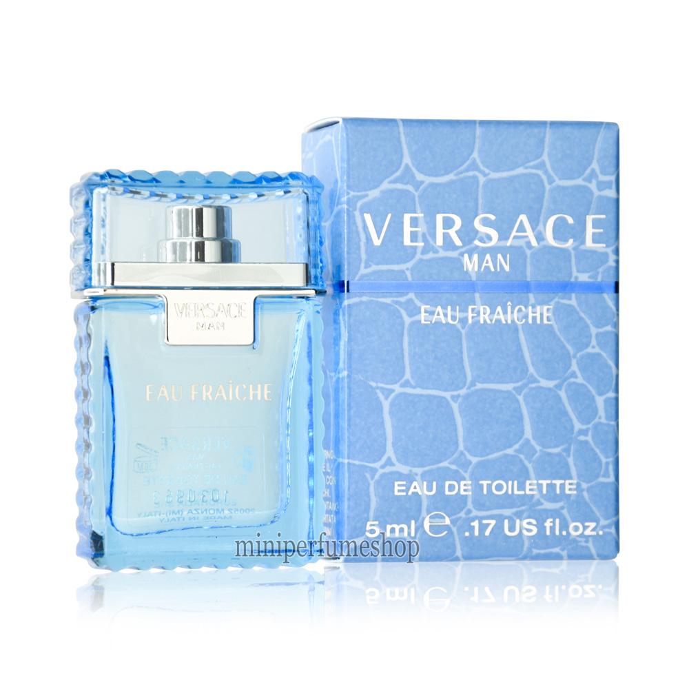 Perfumes Versace Mini Hombre Man 5 MlEdt SzMVpGUq